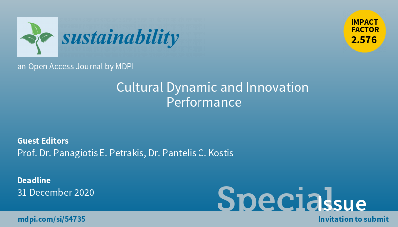 """Call for papers for the """"Special Issue"""" of the academic journal Sustainability (ISSN 2071-1050)"""